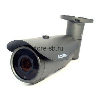 AC-IS506ZA (мото, 2,7-13,5) Amatek Уличная цилиндрическая IP камера, обьектив 2.7-13.5 mm, ИК, POE, 5mp