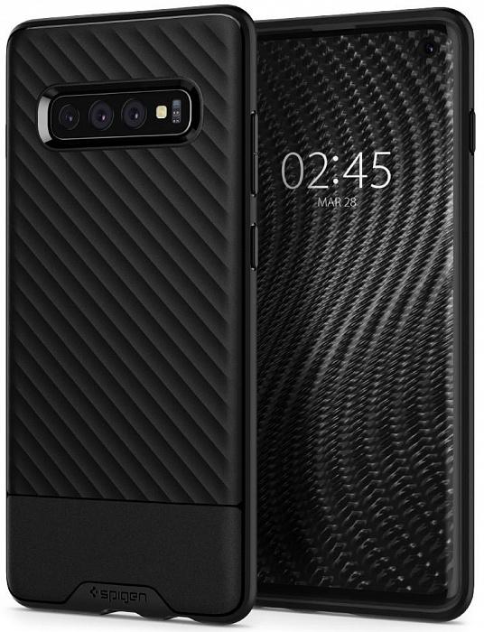 Чехол Spigen Core Armor для Samsung S10 Plus черный