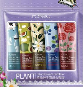 Набор парфюмированных кремов для рук ROREC 5 шт по 30 гр