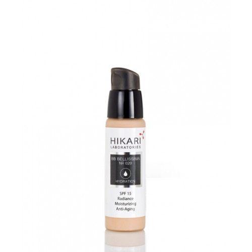 BB BELLISSIMA Cream (020) Выравнивающий крем с тональным эффектом и терапевтическим действием SPF15 Hikari (Хикари) 30 мл