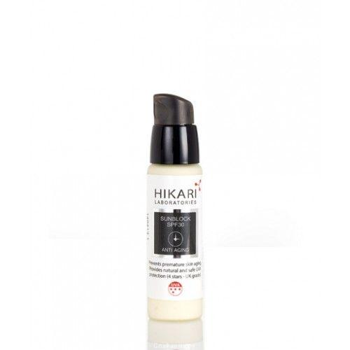 Солнцезащитный крем SPF30 Cream Hikari (Хикари) 100 мл