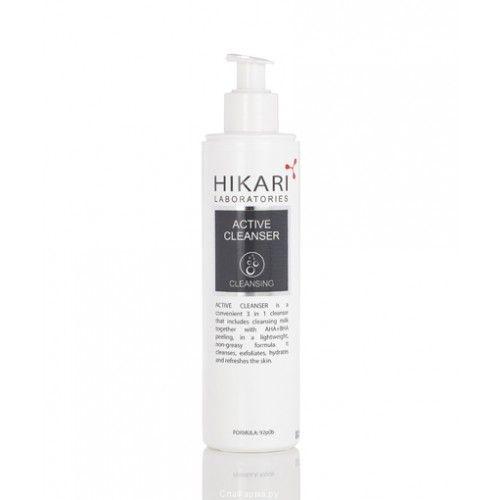 Активный очищающий крем с обновляющим действием Hikari (Хикари) 250 мл