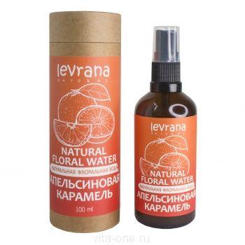 Флоральная вода для лица и тела Апельсиновая карамель Levrana (Леврана) 100 мл