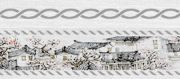 Zen Бордюр белый 6х60