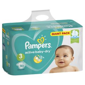 Pampers Active Baby 6-10кг, 90шт (3)