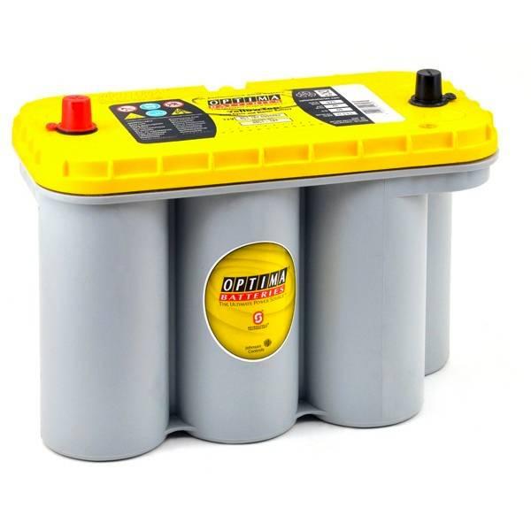 Автомобильный аккумулятор АКБ OPTIMA (Оптима) Yellow Top 8051-187 (YT S 5.5) 75Ач