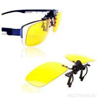 Антибликовые очки для водителей Night View Clip Ons (2)