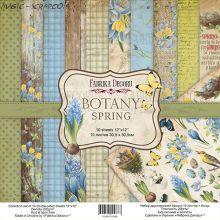 """Набор бумаги 20*20 см от FD """"Botany Spring"""""""