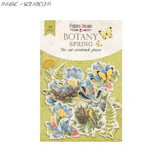 """Набор высечек  от FD """"Botany Spring"""""""