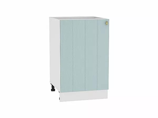 Шкаф нижний Прованс Н600 Ф46 (голубой)