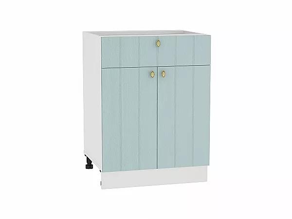 Шкаф нижний Прованс Н601 (голубой)