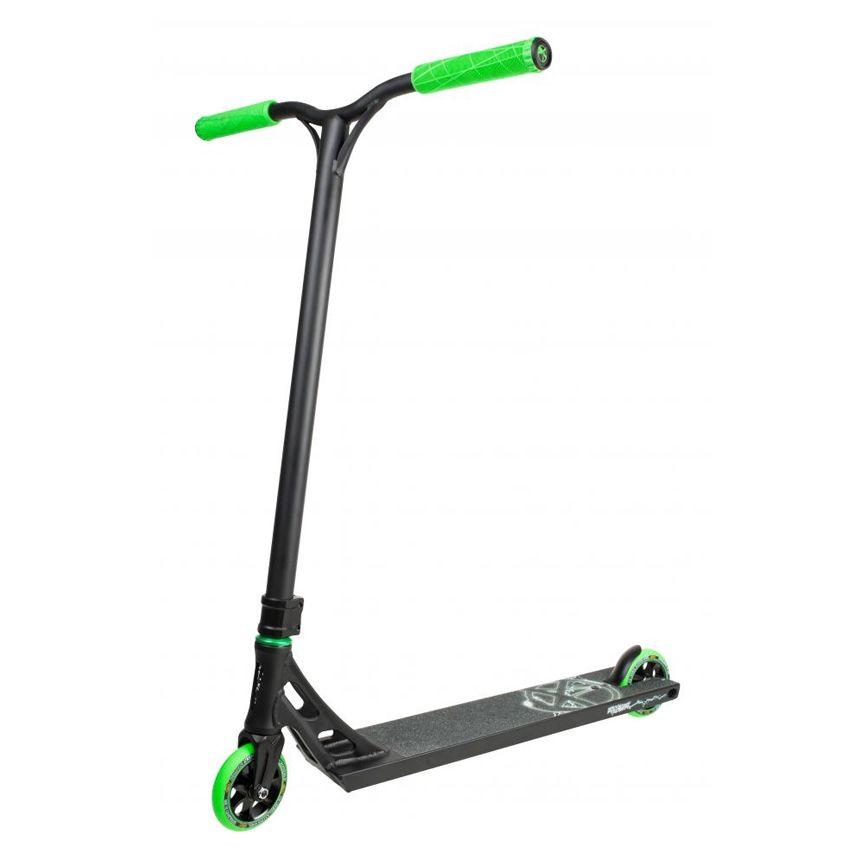 Самокат Addict Equalizer black/green