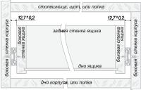 Шариковые направляющие DB4501Zn/450