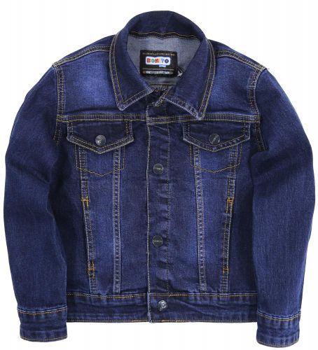 Джинсовый пиджак для мальчиков 7-10 лет Bonito Jeans