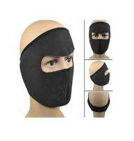 Флисовая маска для защиты от холода, цвет черный (2)