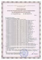 Приложение к сертификату аппликаторы ляпко Стельки