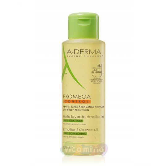 A-Derma Exomega Control Смягчающее очищающее масло, 500 мл