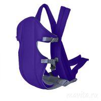 Слинг-рюкзак для переноски ребенка Baby Carriers, Цвет Фиолетовый