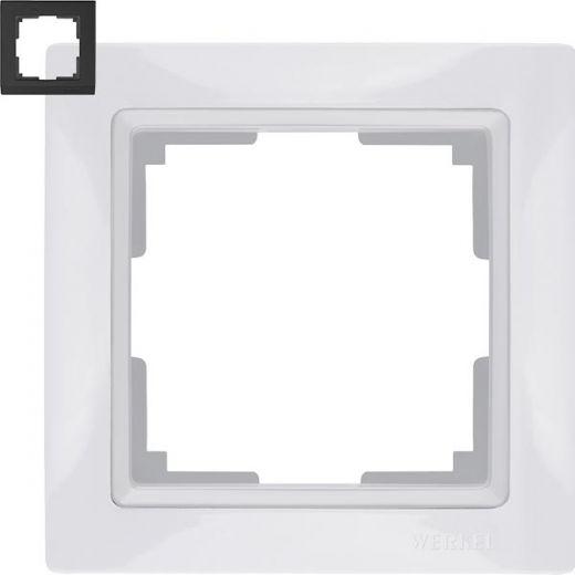 Рамка на 1 пост Werkel WL03-Frame-01 Basic Белый
