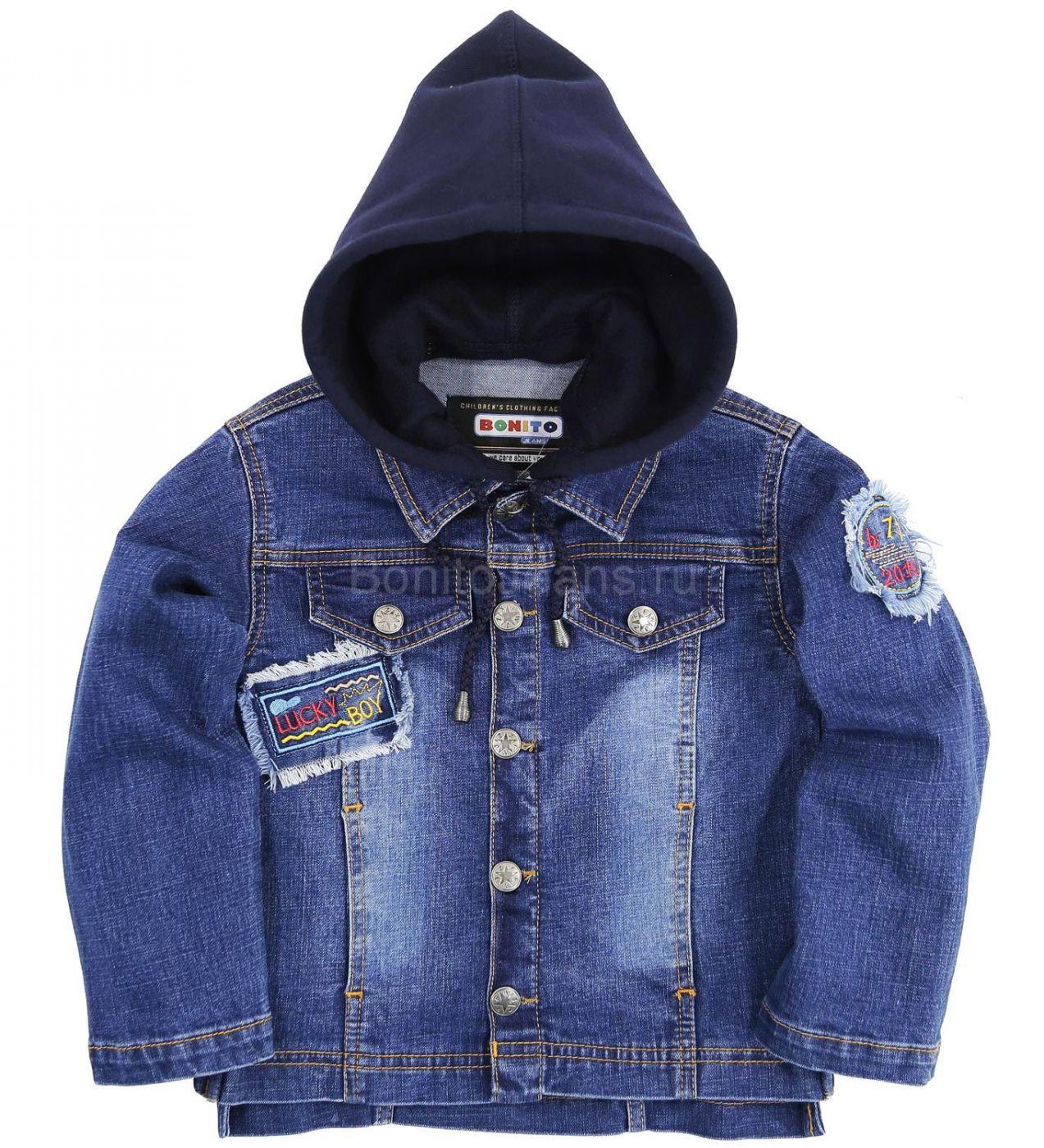 "Джинсовая куртка Bonito Jeans ""Lucky Boy"" black"