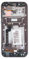LCD (Дисплей) Asus ZX551ML ZenFone Zoom (в сборе с тачскрином) (в раме) (black) Оригинал