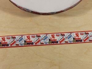 Лента репсовая с рисунком, ширина 22 мм, длина 10 м, Арт. ЛР5824