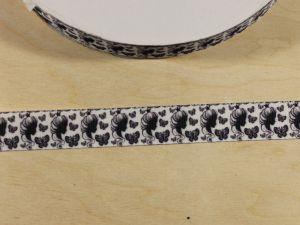 Лента репсовая с рисунком, ширина 22 мм, длина 10 м, Арт. ЛР5855
