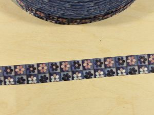 Лента репсовая с рисунком, ширина 22 мм, длина 10 м, Арт. ЛР5867