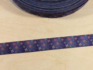 Лента репсовая с рисунком, ширина 22 мм, длина 10 м, Арт. ЛР5869
