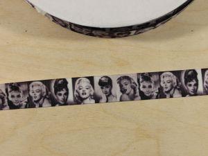 `Лента репсовая с рисунком, ширина 22 мм, Арт. Р-ЛР5833
