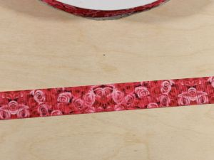 `Лента репсовая с рисунком, ширина 22 мм, Арт. Р-ЛР5865