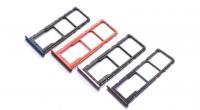 Лоток sim-карты и micro SD Huawei Honor 8X (blue) Оригинал