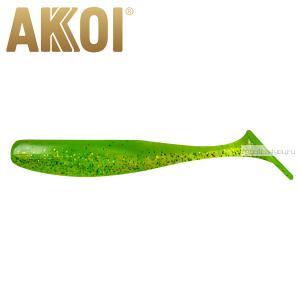 Мягкая приманка Akkoi Original Drop 4''  100 мм / 6 гр / упаковка 5 шт / цвет: OR15