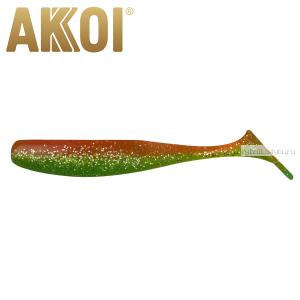 Мягкая приманка Akkoi Original Drop 4''  100 мм / 6 гр / упаковка 5 шт / цвет: OR19