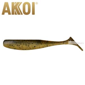 Мягкая приманка Akkoi Original Drop 4''  100 мм / 6 гр / упаковка 5 шт / цвет: OR22
