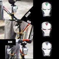 Задний велосипедный фонарь с лазерной дорожкой Железный Человек (Laser Tail Light) (1)