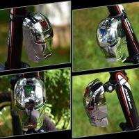 Задний велосипедный фонарь с лазерной дорожкой Железный Человек (Laser Tail Light) (8)