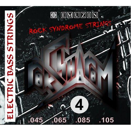 EMUZIN RSB45-105 (045-105) Струны для бас-гитары (4 стр.)