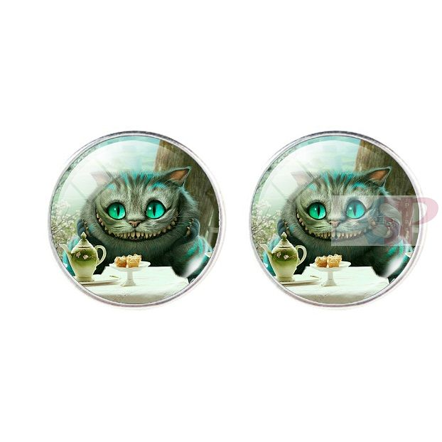 Серьги Cheshire Cat