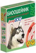Доктор ЗОО БИО Ошейник для собак (красный), 65см