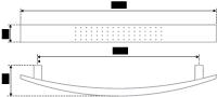 Мебельная ручка-скоба 158 мм RS002CP.4/128