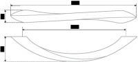Мебельная ручка-скоба 165 мм RS037SC.4/128