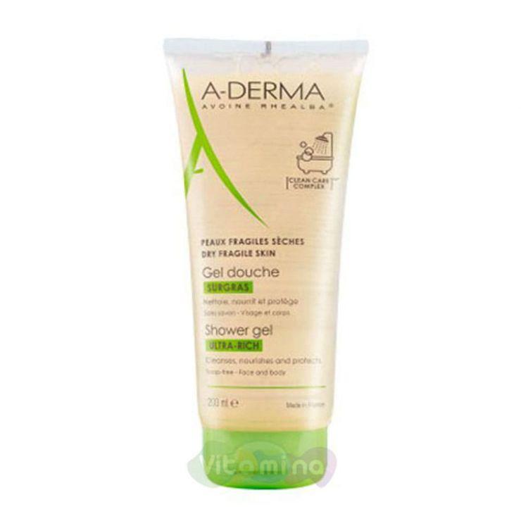 A-Derma Essential Питательный гель для очищения тела, 200 мл