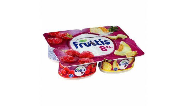 Продукт йогуртный Фруттис 8% малина/ананас/дыня 115г ООО Кампина