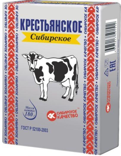Спред Крестьянское Сибирское Серебро 72,5% 180г