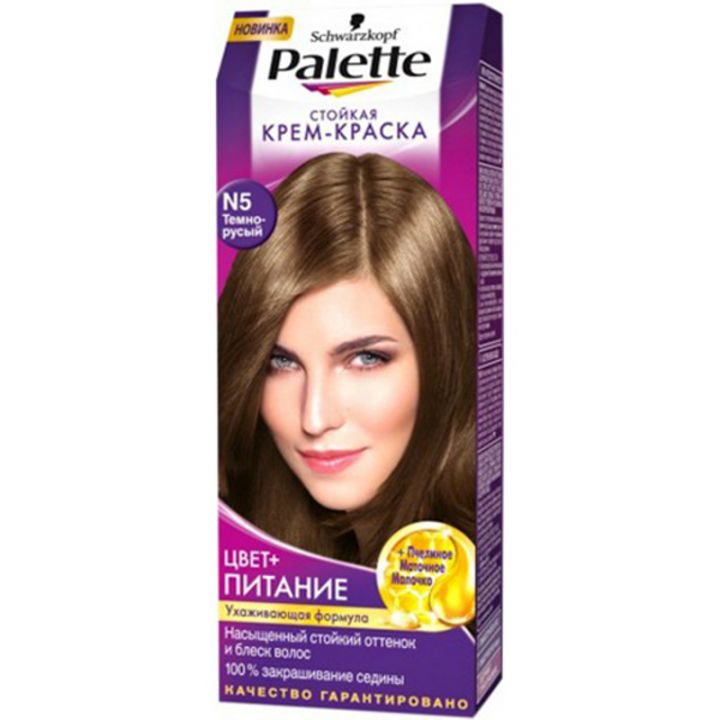 Краска д/волос PALETTE N5 темно-русый
