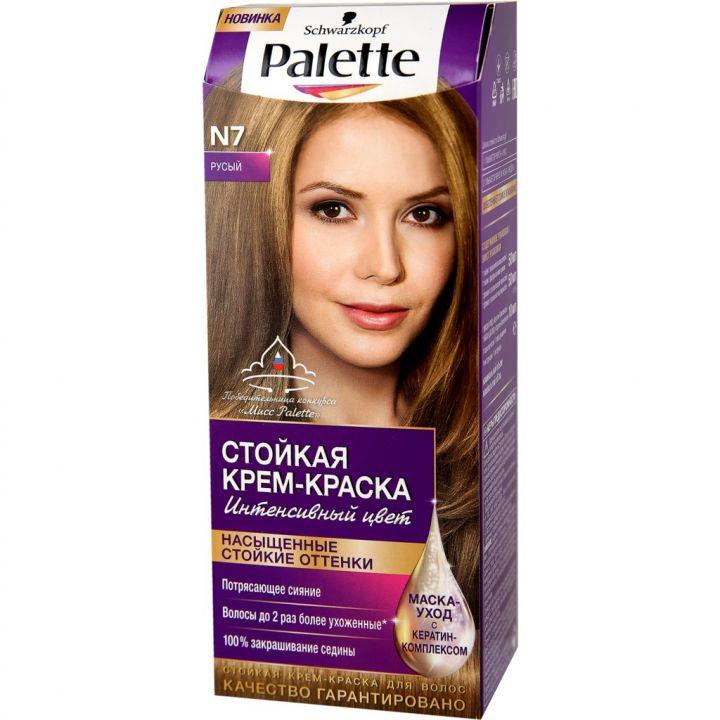 Краска д/волос PALETTE N7 русый