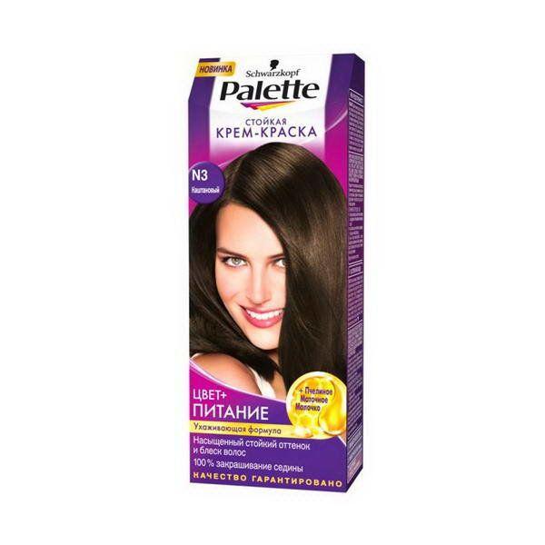 Краска д/волос PALETTE №3 каштановый