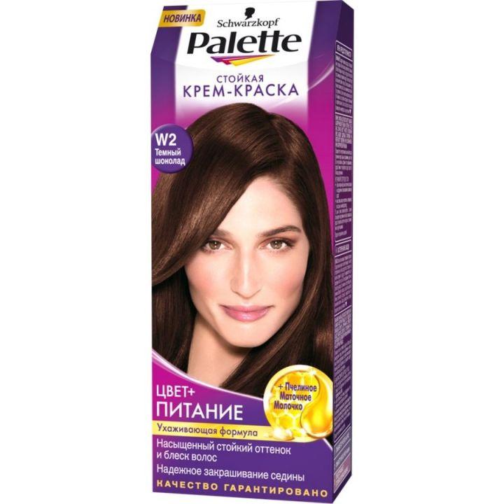 Краска д/волос PALETTE №W2 Темный шоколад