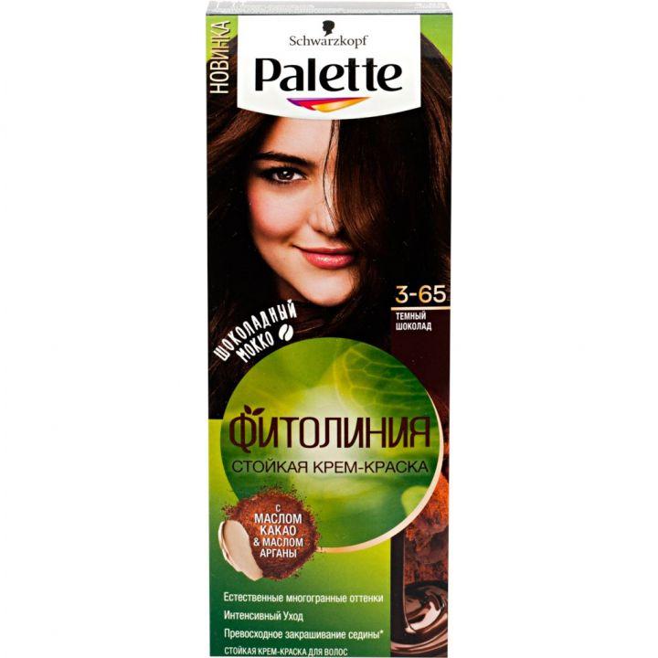 Краска д/волос PALETTE Фитолиния № 3-65 Темный шоколад